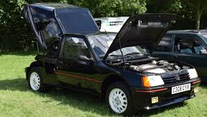 peugeot 205 t16 this group b homologation special is as pure as the driven snow