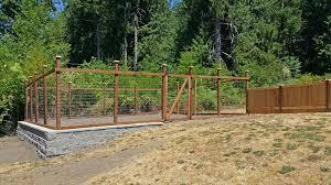Deer Proof Fence For Vegetable Garden Capricious Garden Fence Charming Design Garden Fencing View In