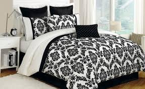 bedding set beautiful black and white print bedding sets