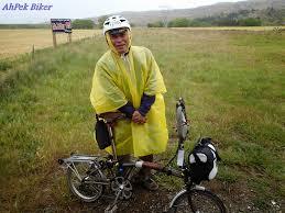 bike raincoat ahpek biker old dog rides again cycling new zealand 2014 day 12