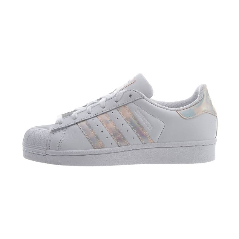 Adidas Kids Superstar Iridescent J Fashion Sneakers (5.5)
