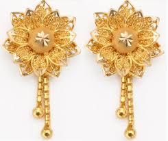 trendy gold earrings 28 march 2014 arts