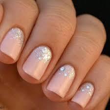 Rhinestone Nail Design Ideas Best 20 Blush Pink Nails Ideas On Pinterest Blush Nails