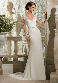 robe de mari e classique robe de mariée classique intempore col en v manche courte