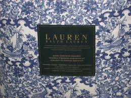 Blue And White Comforters Amazon Com Ralph Lauren Porcelain Blue Comforter Set Queen Home