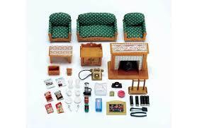 Buy Sylvanian Families Deluxe Living Room Set - Sylvanian families living room set