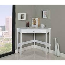 southern enterprises corner desk stylish white corner desk with amazon com kings brand furniture wood