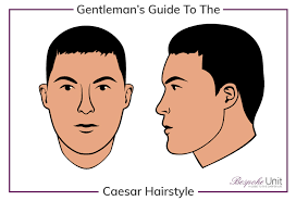 which hairstyle suits my face men what is a man s caesar haircut hairstyle face shape guide for men