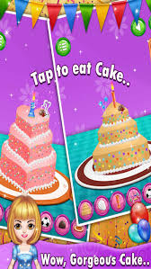 kids birthday cake maker cooking game on the app store