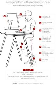 full image for how to use a stand up desk yes there are ergonomics associated with
