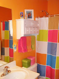 bathroom colorful kids bathroom sets ideas featuring checkered