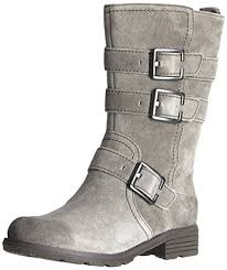 womens grey boots size 9 clarks womens national sugar biker boots gray grau light grey