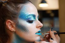 halloween makeup idea mermaid makeup allure