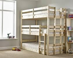 Tri Bunk Beds Uk Three Sleeper Bunkbed 3ft Single Sleeper Bunk Bed