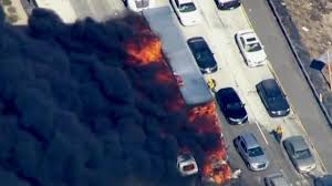 California Wildfire Dateline by Cars Catch Fire After California Wildfire Jumps Freeway Nbc News