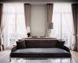tende per soggiorno moderno tende per finestre foto design mag