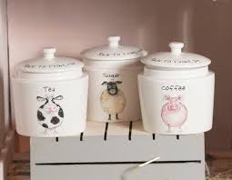 country ceramic kitchen canister sets ebay