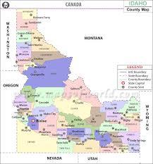 map of idaho map of idaho state map of usa