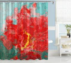 Threshold Medallion Shower Curtain by Aqua Shower Curtain Interior Design