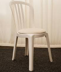 White Plastic Bistro Chairs Dining Furniture Hire Southern Furniture Hire