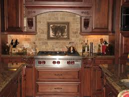 Santa Cecilia Backsplash Ideas by Granite Countertop Stainless Steel Kitchen Wall Cabinets Venmar