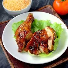 cuisine asiatique poulet recette cuisses de poulet rôti aux épices façon asiatique