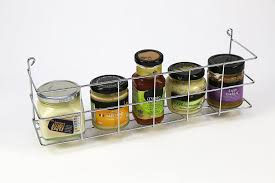 Spice Rack Holder 1 Tier Bottle And Spice Rack Holder Wall Mountable Or Kitchen