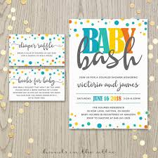 coed baby shower baby bash couples co ed baby shower invitation card baby boy