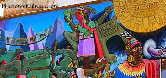 cusco mural by juan bravo shows amazing history of peru places