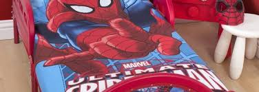 Spiderman Toddler Bed Junior Beds In Mickey Mouse Disney Princess And Spiderman The