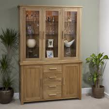 eton solid oak furniture small dresser display cabinet amazon co