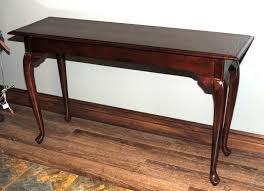 Cherry Wood Sofa Table by Kincaid Queen Anne Style Sofa Table Cherry Wood U2013 Rosewood
