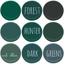 benjamin moore dark greens absolute green bavarian forest