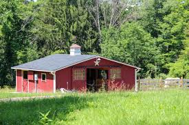 Shed Row Barns For Sale Post U0026 Beam Horse Barns Run In Shed Row Rancher With Overhang