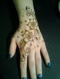 pentagram henna tattoo flower henna by tianna pinterest