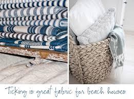 coastal style beach house fabrics