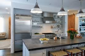 Zinc Kitchen Island - zinc countertops u2013 vintage or modern style in the kitchen