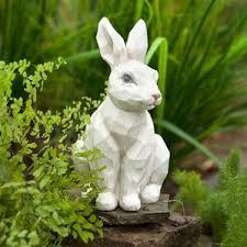 rabbit garden statue wayfair