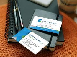 t kammerer accountant business card design graphic design