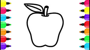 big apple coloring pages how to draw big apple and coloring