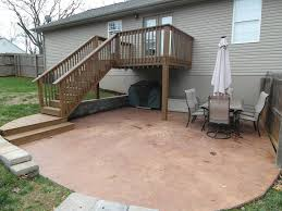 stained concrete patio gallery u2014 all home design ideas