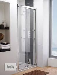 bifold shower door frameless buy ultra roma frameless bi fold shower door 900mm wide 6mm
