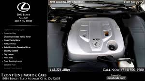 lexus westminster used cars used 2006 lexus gs 300 front line motor cars midway city ca