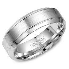 mens palladium wedding band crown ring wb 9089 m10 wedding band