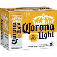 calories in corona light beer corona light beer 12 pack 12 fl oz walmart com