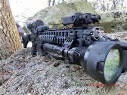 hunting lights for ar 15 hunting ar 15 mounted flashlight lighting