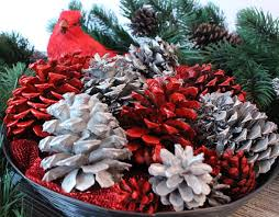 diy painted pine cones two crafting