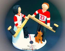 hockey cake toppers hockey caketoppers iweddingcaketoppers