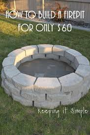 Images Of Firepits 11 Excellent Diy Pits Tutorials Diy Pit Backyard And