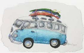 volkswagen camper pink v w camper vans victoria art gallery